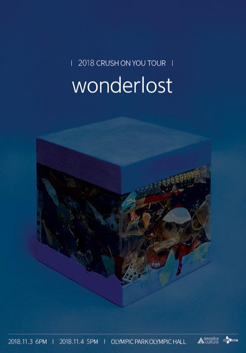 2018 CRUSH ON YOU TOUR <wonderlost>