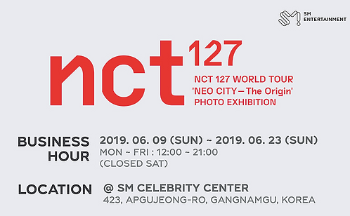 NCT 127 World Tour 'NEO CITY' 写真展 公式グッズ 購入代行