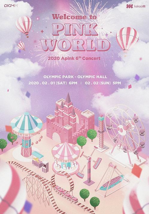 【予約】2020 Apink 6th Concert [Welcome to PINK WORLD]