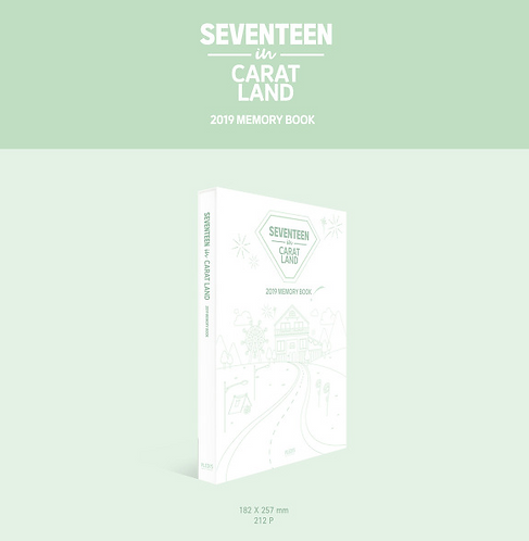 【予約販売】SEVENTEEN IN CARAT LAND 2019 MEMORY BOOK 購入代行