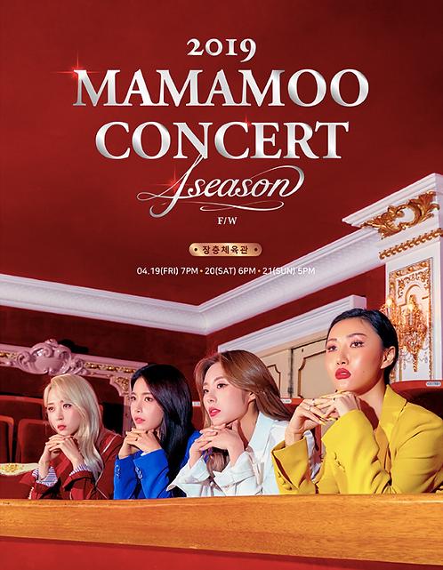 2019 MAMAMOO CONCERT〈4season F/W〉