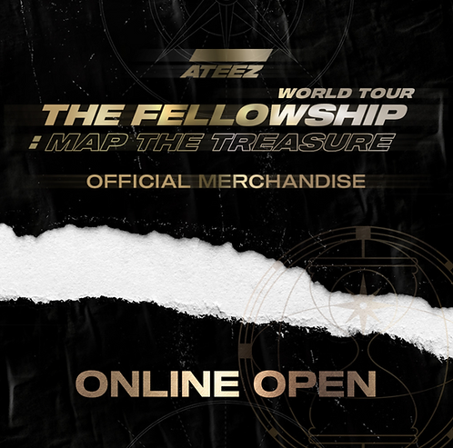 ATEEZ WORLD TOUR THE FELLOWSHIP : MAP THE TREASURE MDグッズ購入代行