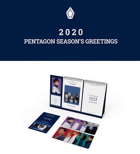 PENTAGON 2020 SEASON'S GREETING