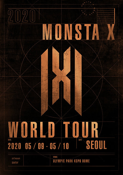 【予約】 2020 MONSTA X WORLD TOUR