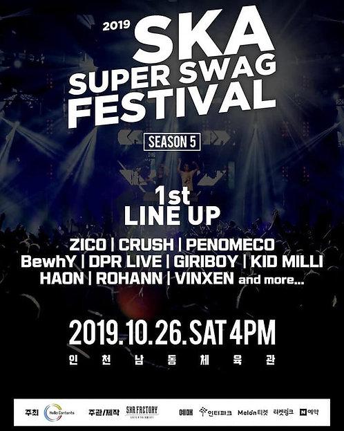 【予約】2019 SKA SUPER SWAG FESTIVAL<SEASON5>