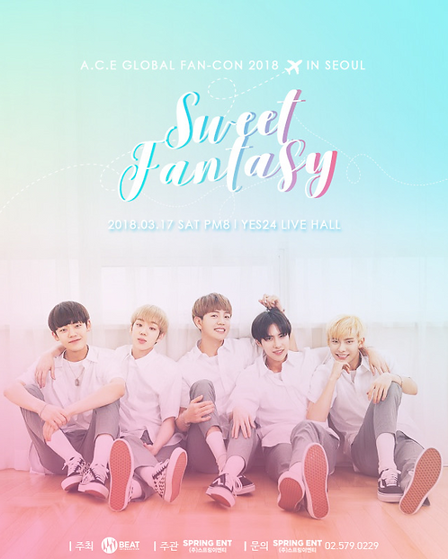 A.C.E GLOBAL FAN-CON 2018 'Sweet Fantasy' IN SEOUL