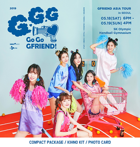 ヨジャチング(GFRIEND)アジアツアー<GO GO GFRIEND>inソウル 記念Kinoアルバム購入代行