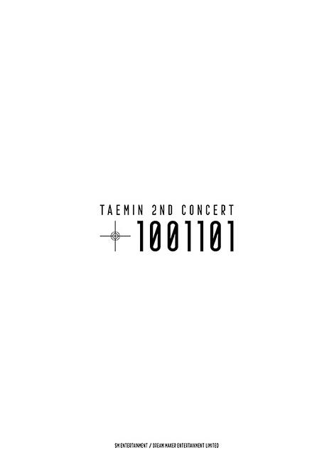 TAEMIN 2nd CONCERT [T1001101]