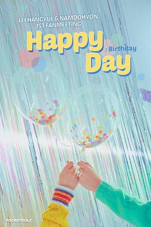 【予約】イハンギョル×ナムドヒョン 1stファンミーティング<Happy Day>