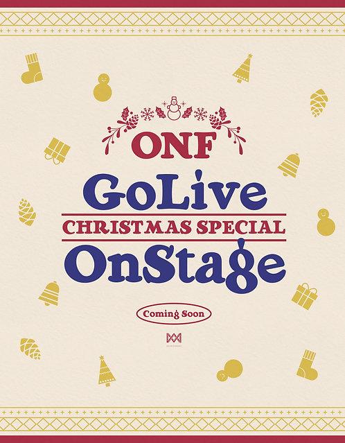 【予約】2019 온앤오프(ONF) GO LIVE ON STAGE ☆ CHRISTMAS SPECIAL