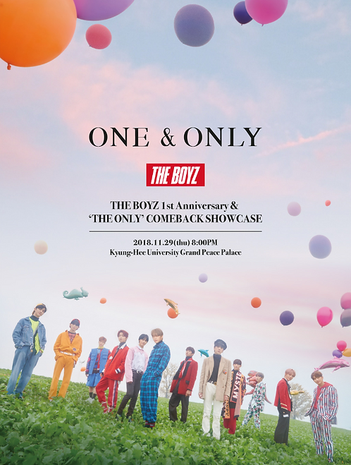 ONE&ONLY - THE BOYZ 1st Anniversary & <THE ONLY> カムバックショーケース