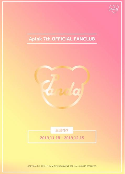 APINK公式ファンクラブ<PANDA7期> 加入代行