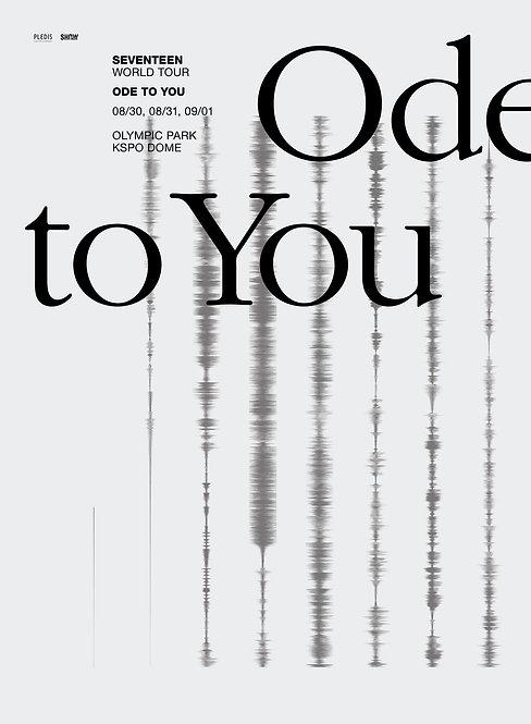 【予約】SEVENTEEN  WORLD TOUR <ODE TO YOU> IN SEOUL