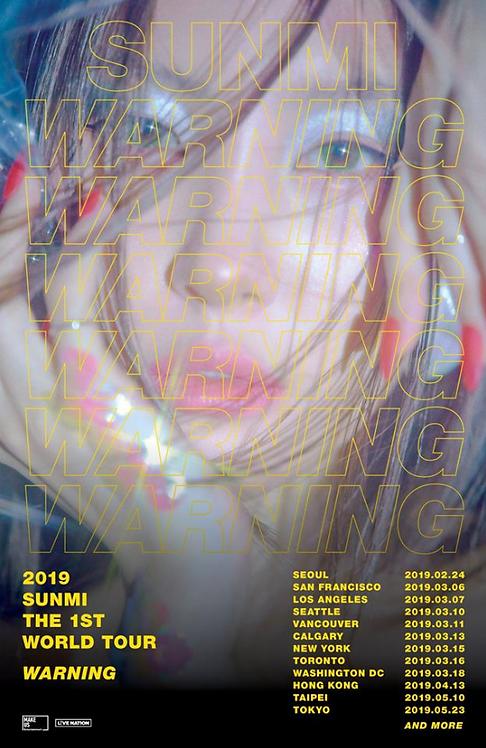 2019 ソンミ THE 1st WORLD TOUR [WARNING]