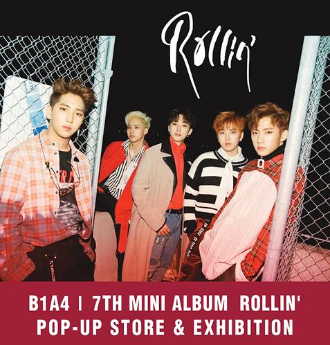 B1A4 7th Mini Album[Rollin'] ポップアップストアグッズ代行