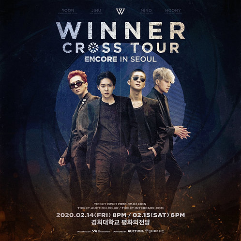 【予約】WINNER [CROSS] TOUR ENCORE IN SEOUL