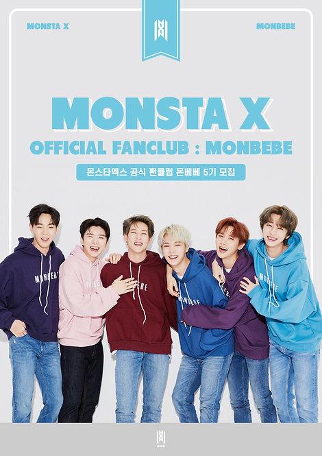 MONSTA X 公式ファンクラブ<MONBEBE>5期 加入代行