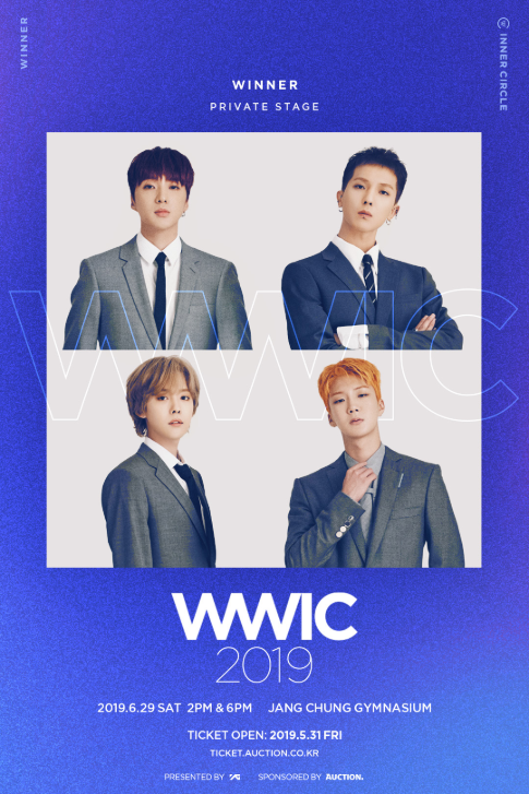 WINNER PRIVATE STAGE [WWIC2019]