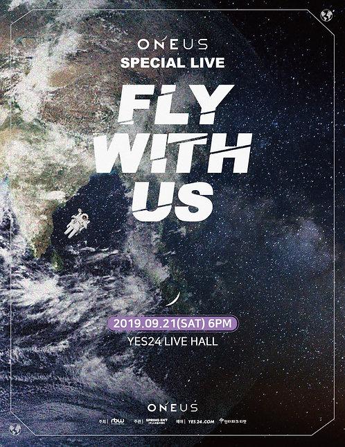 """【予約】ONEUS SPECIAL LIVE""""FLY WITH US"""""""