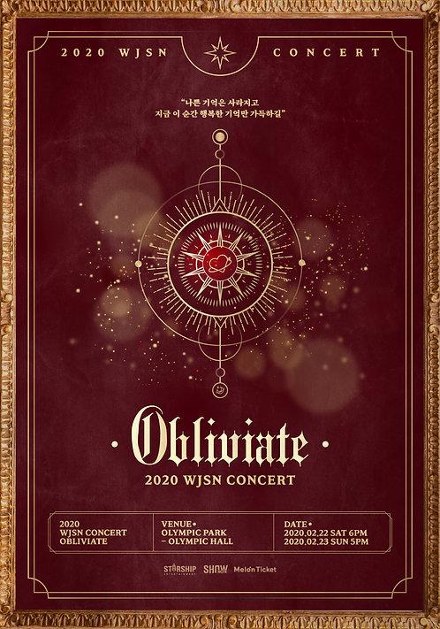 【予約】宇宙少女 単独コンサート<Obliviate>