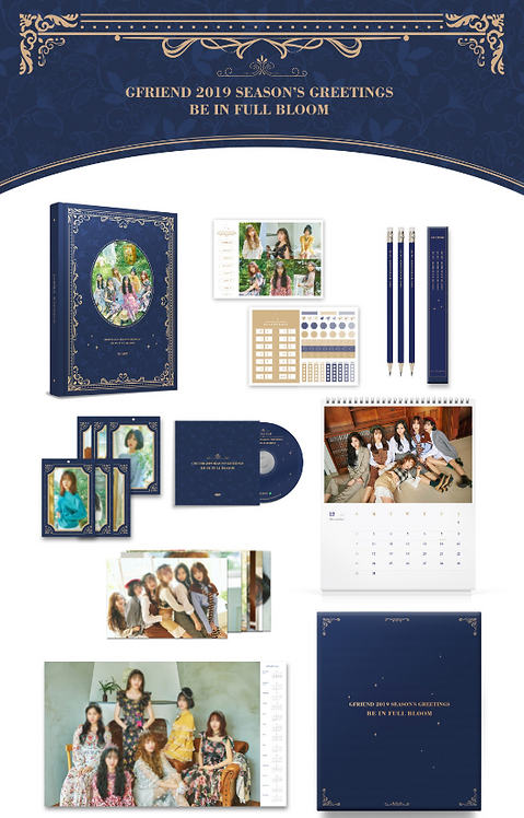GFRIEND (ヨジャチング) 2019 SEASON'S GREETINGS