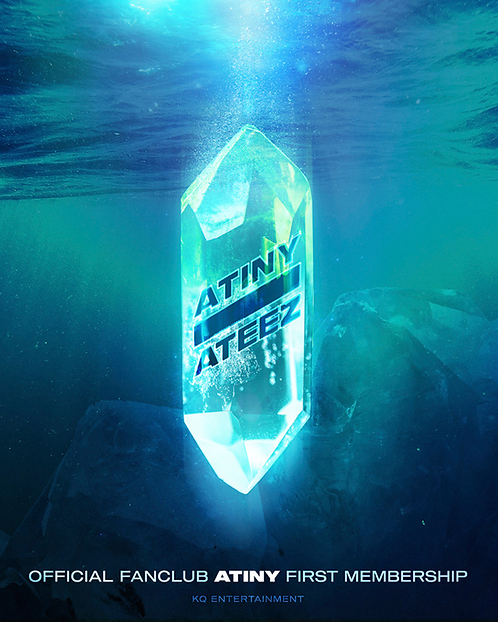 ATEEZ 公式ファンクラブ<ATINY>1期 加入代行