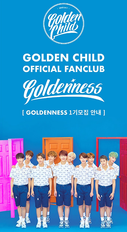 ★Golden Child 公式ファンクラブ<GOLDENNESS1期>加入代行