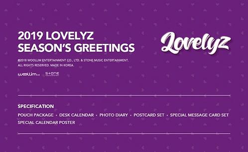 Lovelyz 2019 SEASON'S GREETINGS