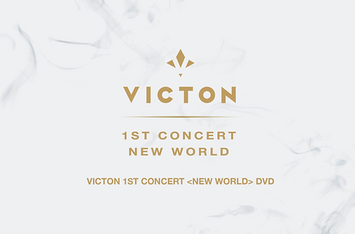 VICTON 1ST CONCERT [NEW WORLD] DVD 予約販売 購入代行