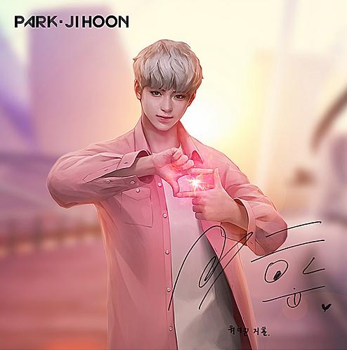 Wanna One ART BOOK Tシャツ 【パクジフン】
