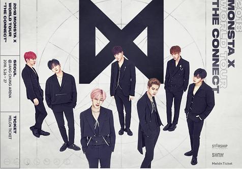 MONSTA X THE 2ND WORLD TOUR 1ST SHOW : SEOUL