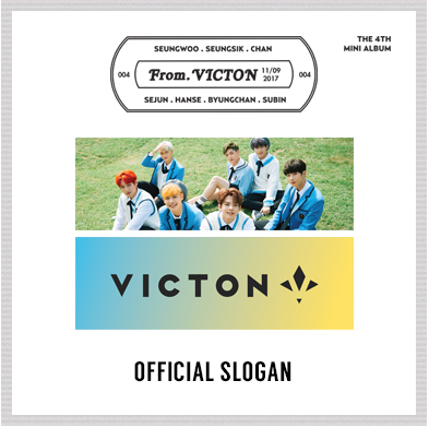 VICTON ミニ4集 公式スローガン