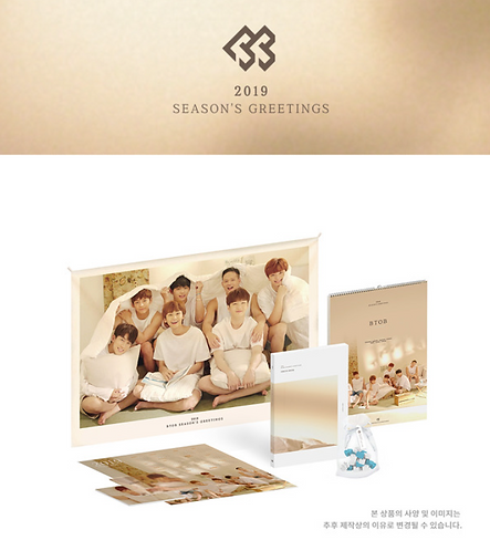 BTOB 2019 SEASON'S GREETINGS