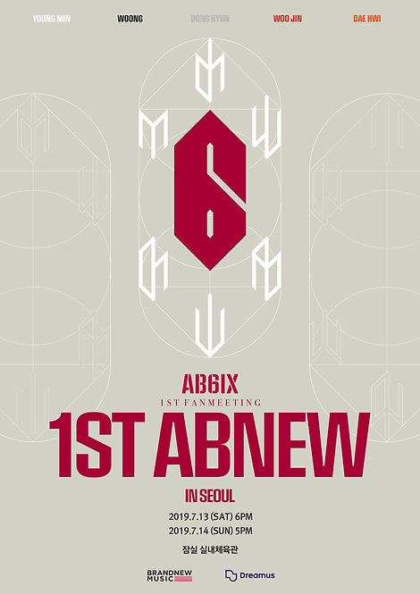 AB6IX 1ST FANMEETING [1ST ABNEW] IN SEOUL