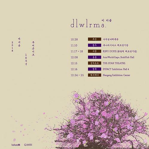 【光州公演】2018 IU 10周年ツアーコンサート<イ・チグム dlwlrma>の複製