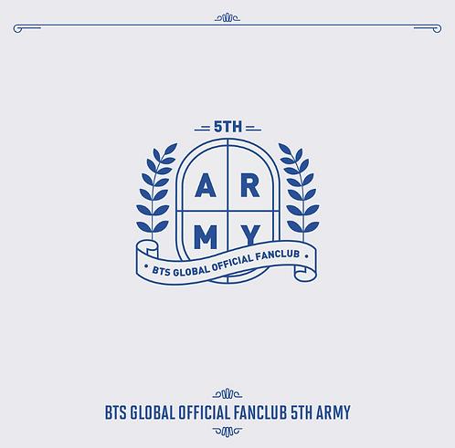 ★防弾少年団(BTS)公式ファンクラブ ARMY5期 加入代行