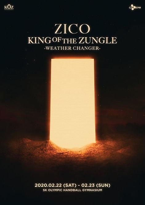 【予約】ZICO 2nd King Of the Zungle - WEATHER CHANGER