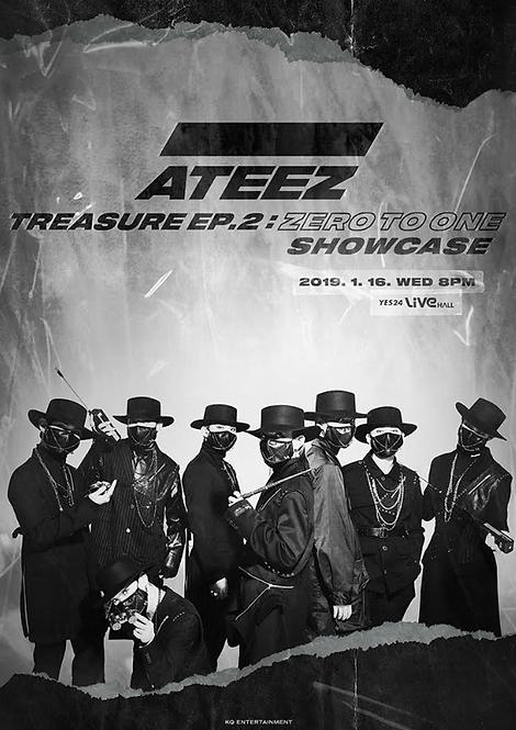 ATEEZ TREASURE EP.2: ZERO TO ONE SHOWCASE