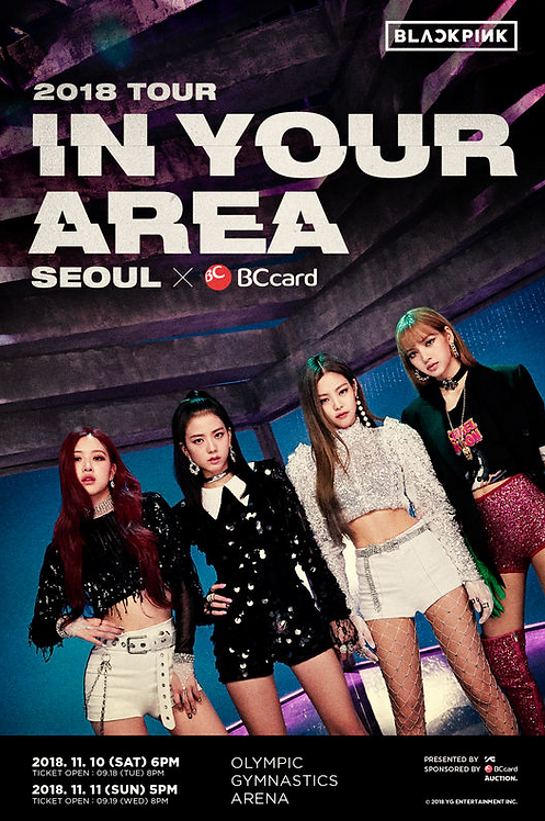 BLACKPINK 1stソロコンサート<IN YOUR AREA>