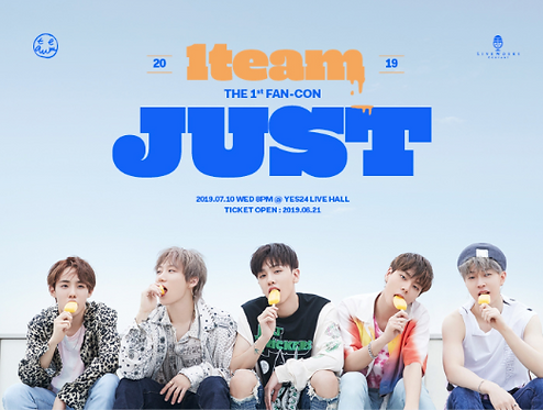 【予約】2019 1TEAM THE 1st FAN-CON [JUST]