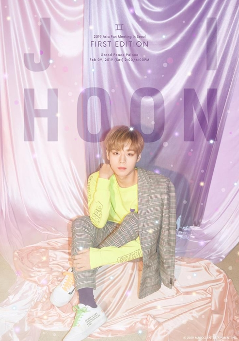 PARK JIHOON 2019 ASIA FAN MEETING IN SEOUL[FIRST EDITION]