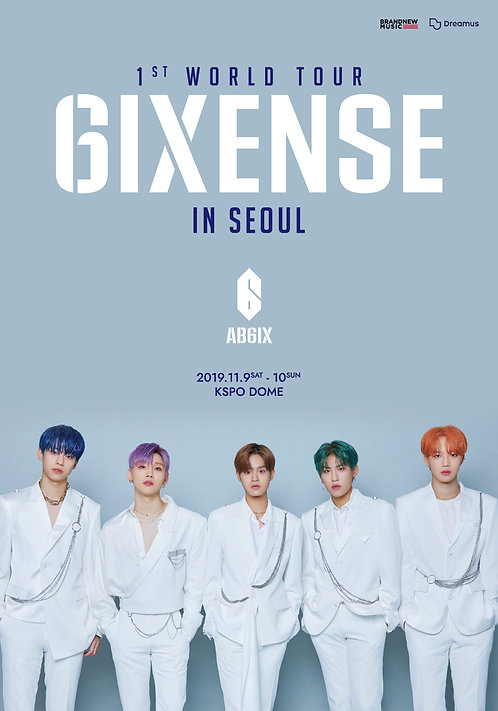 【予約】AB6IX 1ST WORLD TOUR <6IXENSE> IN SEOUL