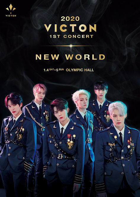 【予約】VICTON 1ST CONCERT [NEW WORLD]