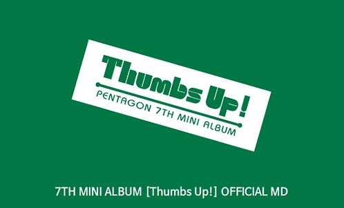 PENTAGON 7thミニアルバム <Thumbs Up!> 公式グッズ 購入代行
