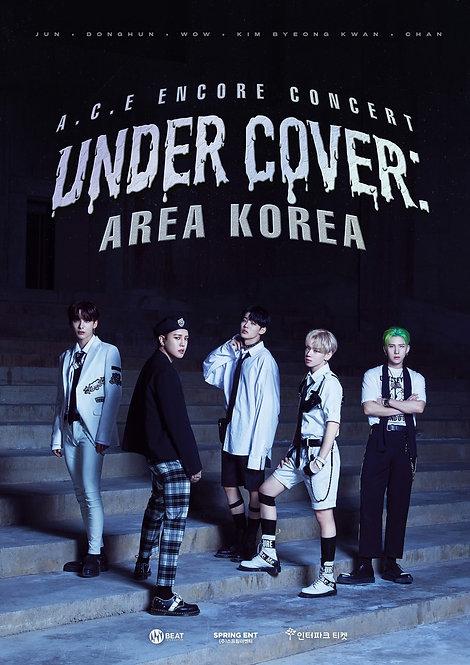 【予約】A.C.E ENCORE CONCERT [UNDER COVER : AREA KOREA]
