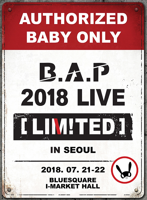 B.A.P 2018 LIVE[LIMITED]IN SEOUL