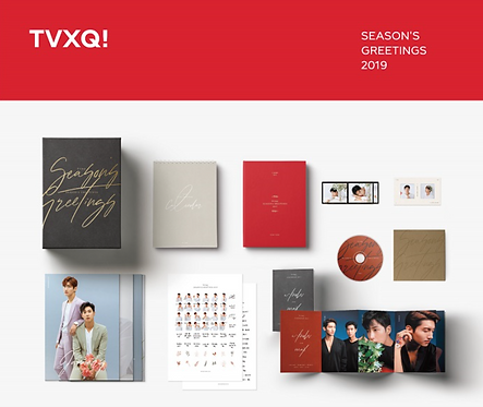 TVXQ 2019 SEASON'S GREETINGS