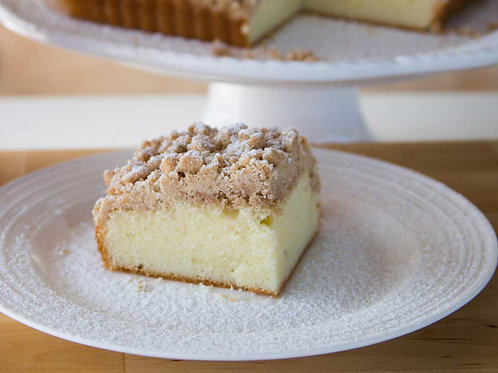 Old-Fashioned Crumb Cake Dessert Tray