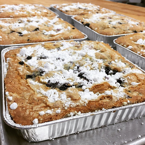 Blueberry Coffee Cake Dessert Tray