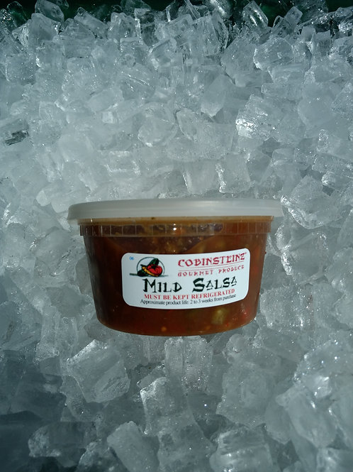 Salsa - moderate/mild heat